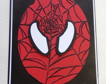 Spiderman Superhero Card