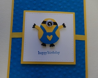 Birthday Minion Card