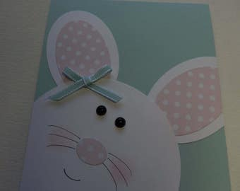 Punch Art Easter Bunny