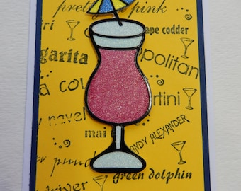 Umbrella Drink All Occasion Card