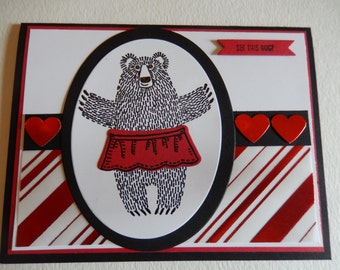 Mama Bear Valentine's Card