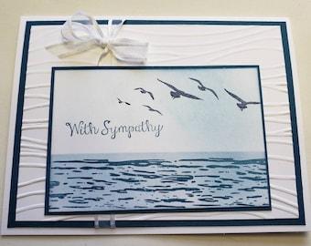 Wavy Sympathy Card