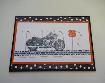 Motorcycle Ride Card