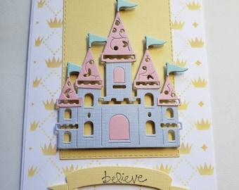 Castle Believe Card