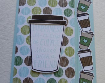 Happiness is a Cup of Coffee Card
