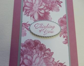 Sweet Sugarplum Thinking of You Card