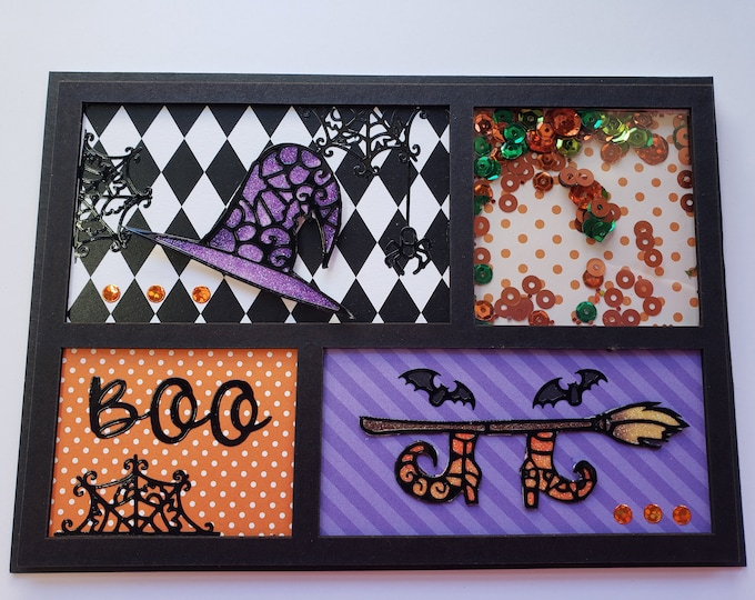 Featured listing image: Halloween Shaker Card
