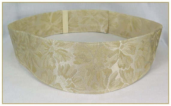 A History of Belts 1920-1960 Gold Brocade Victorian Belt $39.00 AT vintagedancer.com