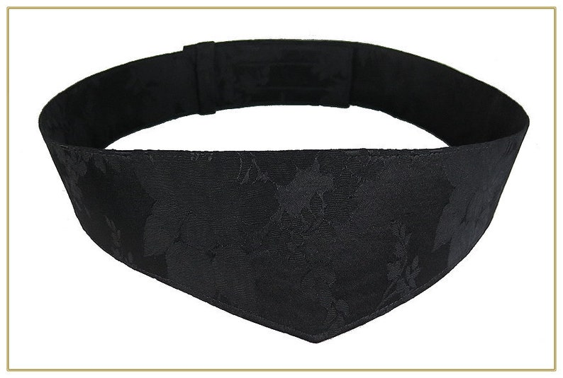 Victorian Skirts   Edwardian Skirts     Victorian Black Jacquard Belt $42.00 AT vintagedancer.com