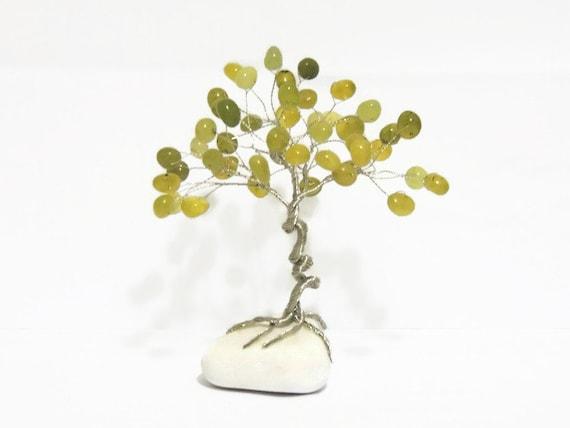November Birthstone Baum Draht-Baum einzigartiges Teen