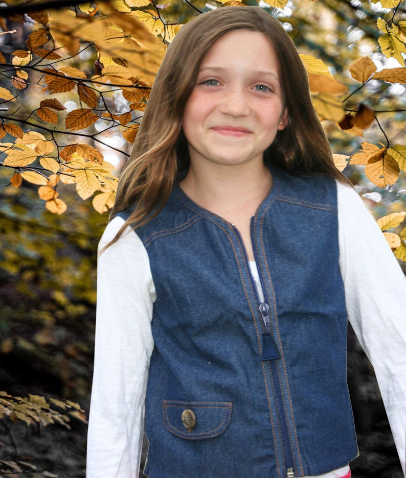 Signature Denim Weighted Vest for Children with Special image 0