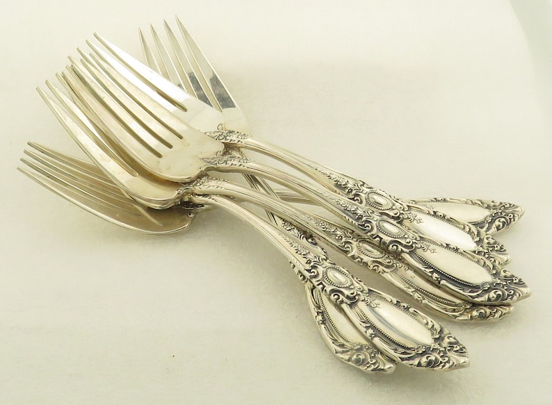 """Towle King Richard Sterling Silver Luncheon Fork 7 3//8/"""""""