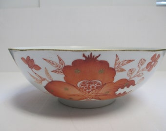 Antique 19th Century Chinese Hand Painted Porcelain Bowl.