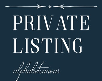 Private Listing for Joslynn - Add Glitter on CT