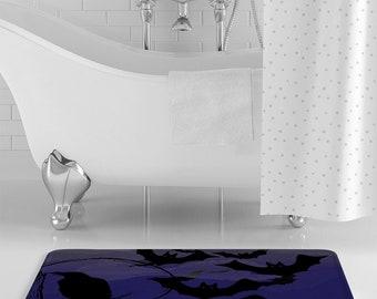 Merveilleux Purple Bathroom   Etsy
