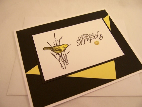 Sympathy Handmade Greeting Card