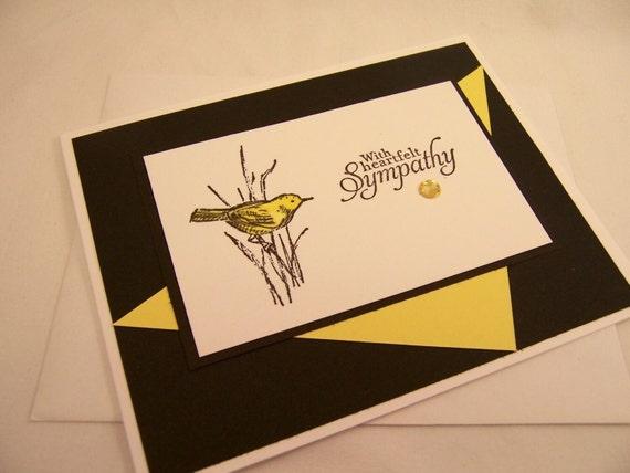 Handmade Greeting Card Sympathy