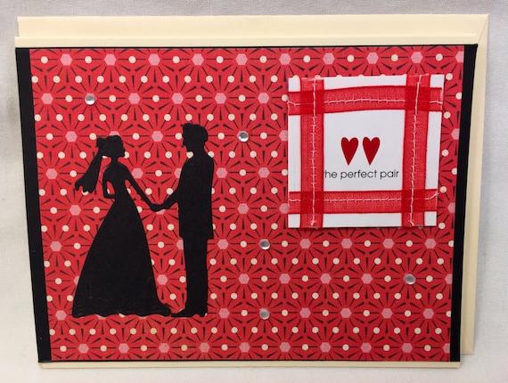 Handmade Greeting Card The Perfect Pair
