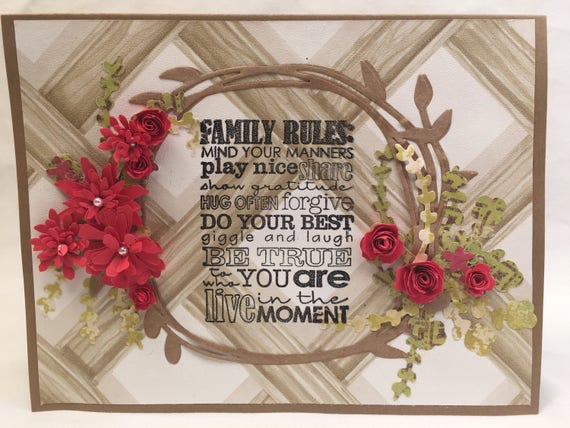 Family Rules- how to get along