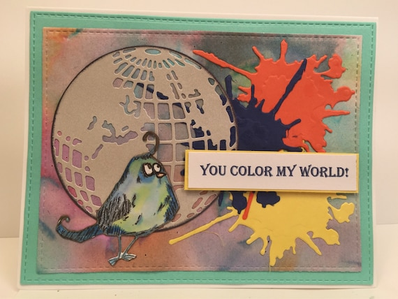 You COLOR into my world!
