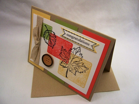 Congratulations Handmade Greeting Card