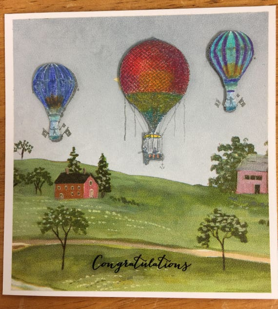 Handmade Greeting Card Take flight,soar to the highest