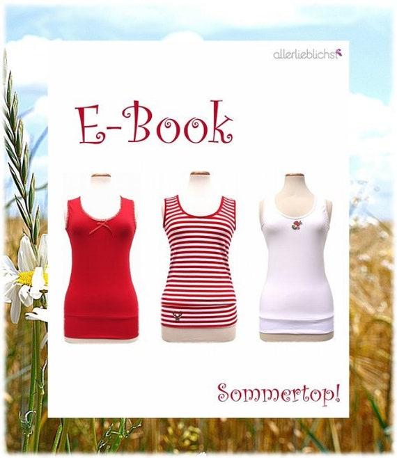 Ähnliche Artikel wie Ebook,Schnitt, Sommertop! auf Etsy