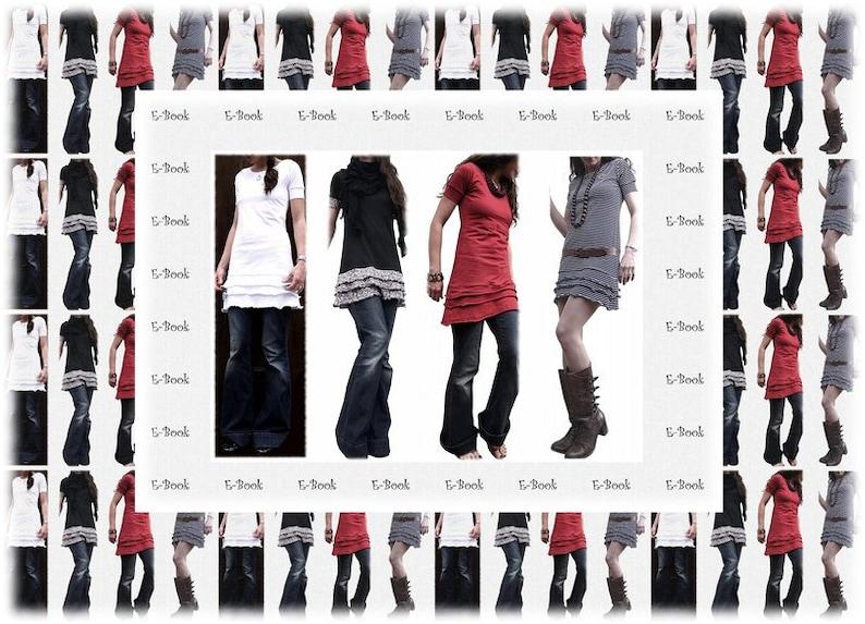 EbookSchnitt Jerseykleid oder Tunika image 0