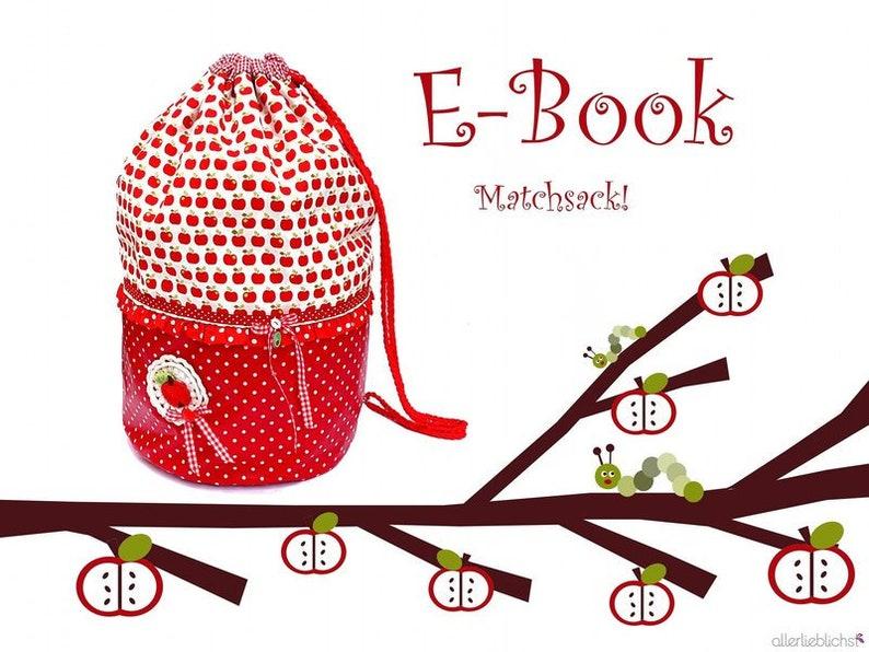 E-BookebookSchnittMatchsack image 0