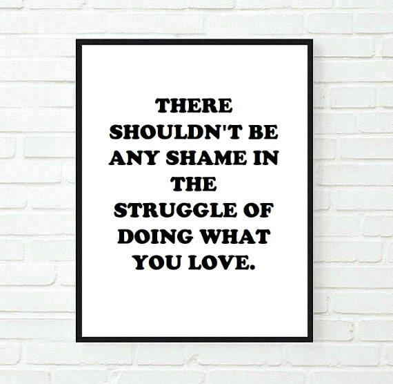 Inspirational Room Decor Love Quote Tumblr Typographic Etsy