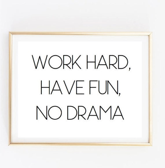 Work hard have fun inspirational tumblr quote typographic Etsy Best Inspiring Quotes Tumblr