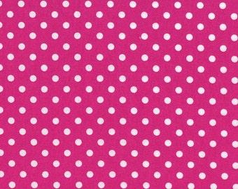 Fuchsia Dumb Dots, from Michael Miller Fabrics