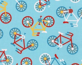 Retro Bicycles, Ready Set Go 2, from Robert Kaufman