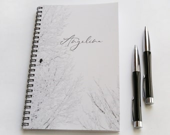 lined notebook etsy