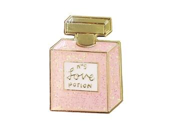 Chanel love potion No. 9 enamel pin