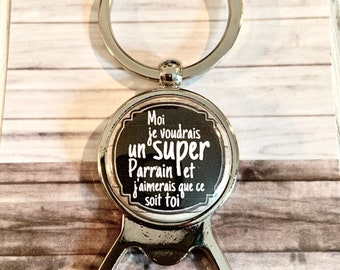 Personalized bottle opener for sponsor request