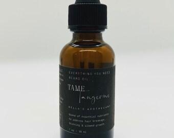 Tame Tangerine Beard Oil