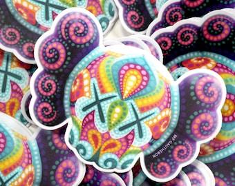 One stickers Kaws