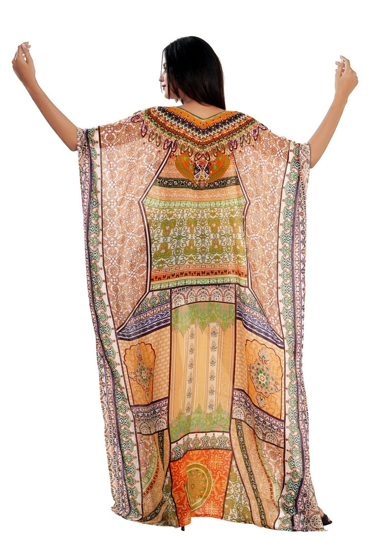 Beautiful kaftan long dress for women bikini kaftan designer wear 333