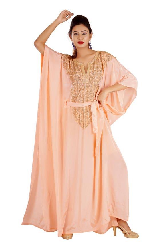 dubai 100 New crepe kaftan very original silk fancy xaqqrwnv