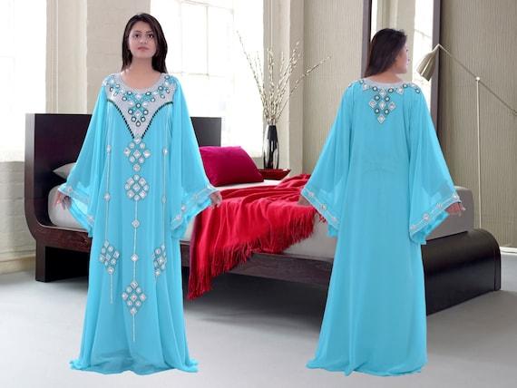 Dress Ladies sale kaftans dubai gown Wedding abaya earings Maxi jalabiya very on abaya Dubai fancy Raf0w