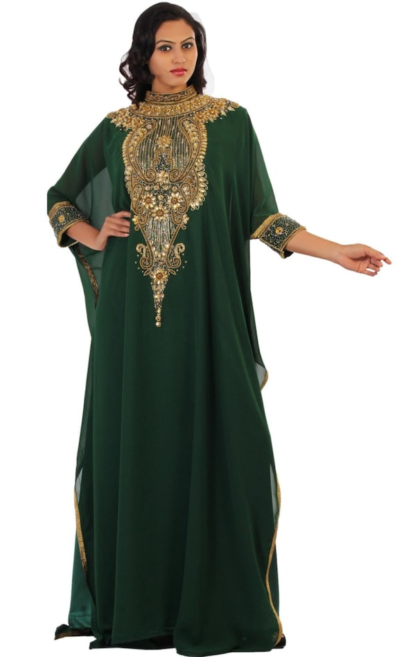 Plus Plus Elegant Abaya size clothing Party dress size kaftan dress Caftan clothing Dubai dress dress African Dress Maxi Kaftan xv8Oq