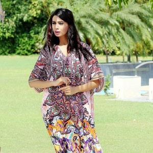 Silk kaftan online one piece dress on salejeweledhand madeformal caftan beach cover up hot look luxuries Resort yacht party kaftan 119