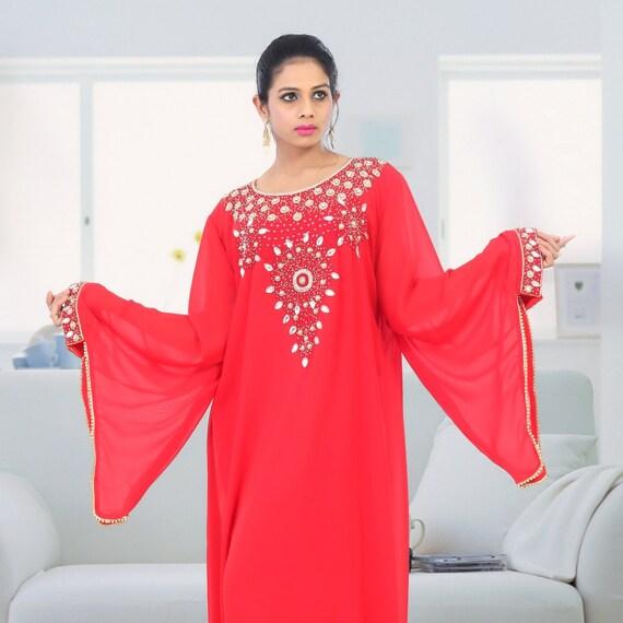 dress clothing Maxi dress dress African size Plus dress Kaftan size Dress Elegent kaftan Caftan Dubai clothing Plus Party 5XBxzwX