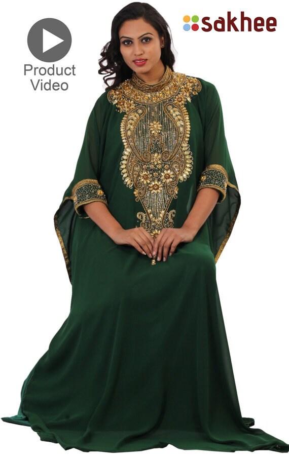 Plus Plus Elegant Abaya size clothing Party dress size kaftan dress Caftan clothing Dubai dress dress African Dress Maxi Kaftan xv8Oq