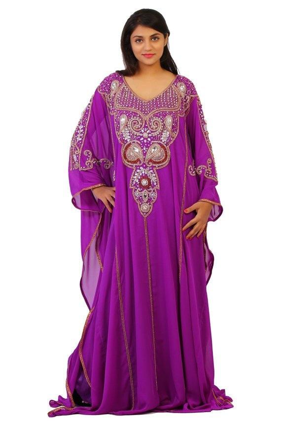 clothing Kaftan Elegant size kaftan dress Maxi size African Dubai dress Dress Plus dress Plus Abaya dress Party clothing Caftan TBwqTrcz