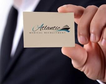 Custom Business Card Design. Front & Back. Digital file.