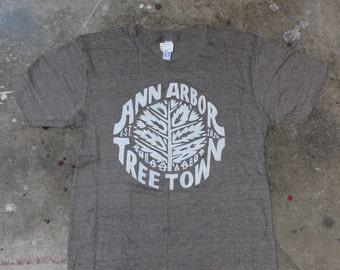 Ann Arbor Tree Town T-Shirt