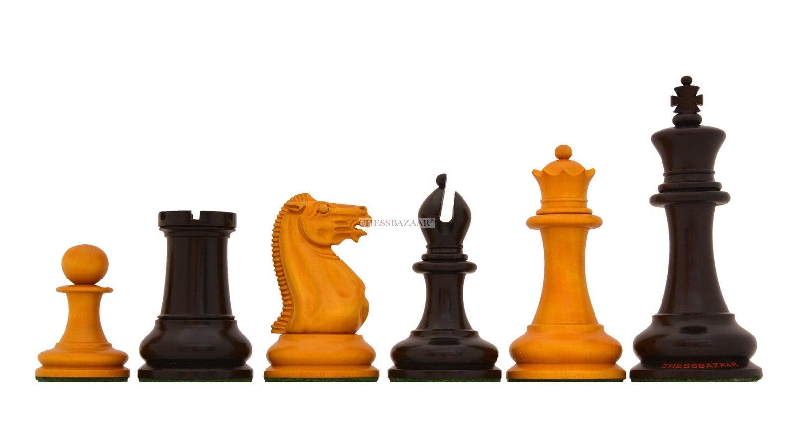 Set staunton chess original 1849 Original Repro