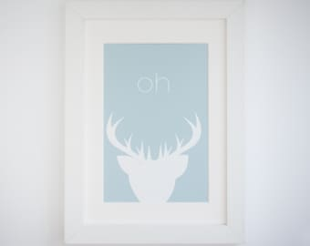 Oh Deer - Giclée Print